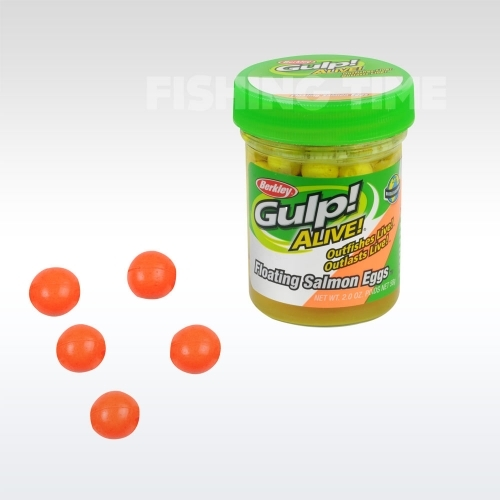 Berkley Gulp! Alive Floating Salmon Eggs Fluo Orange