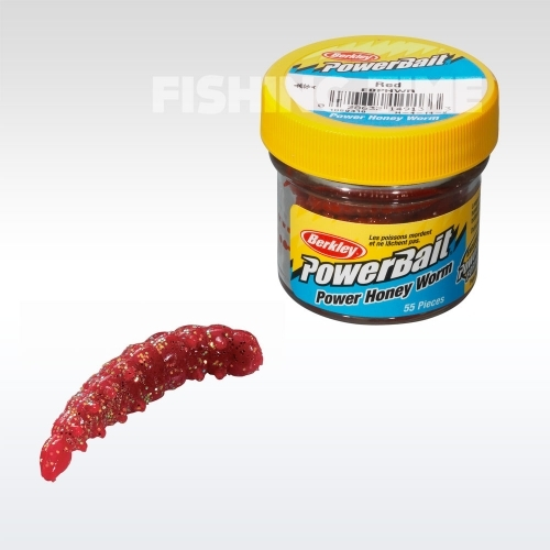 Berkley Powerbait Honey Worms lárvaimitáció RedScales