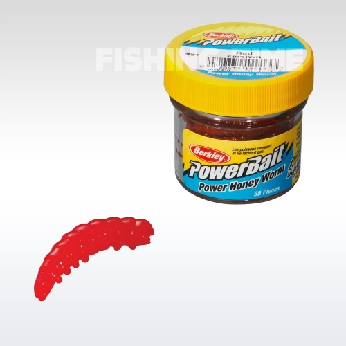 Berkley Powerbait Honey Worms - fokhagymás lárvaimitáció Orange