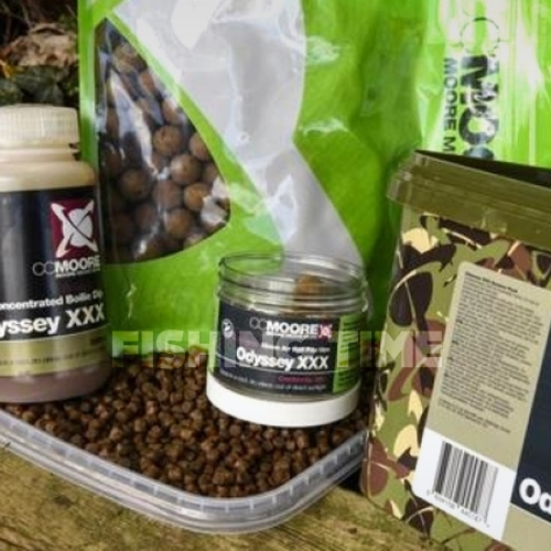 CCMore ODYSSEY XXX SESSION PACK - 1kg 15mm bojli, 2kg pellet, 100ml dip, 20db 15mm pop-up