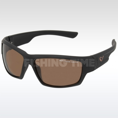 Savage Gear Shades Floating  Polarized Sunglasses - Amber (Sun And Clouds) polarizált napszemüveg