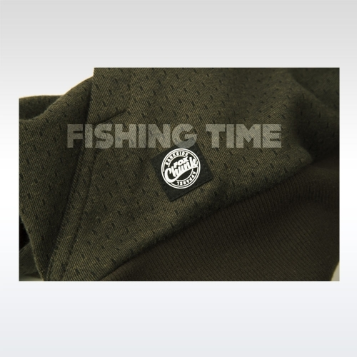 Fox Dark Olive Quarter Zip Hoody