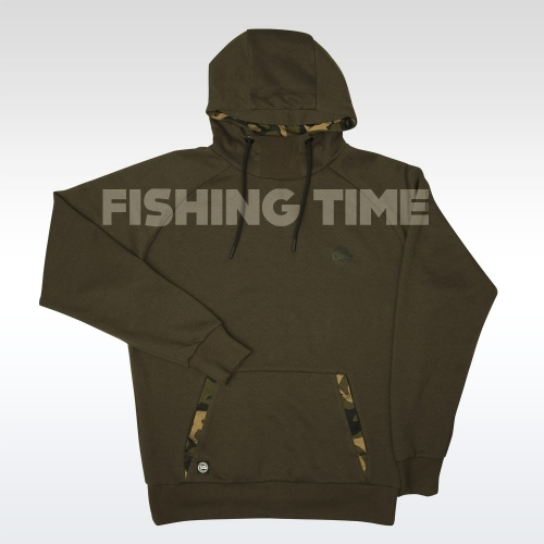 Fox Dark Khaki/Camo Pull Over Hoody Pulóver