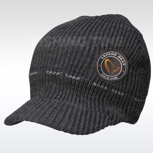 Savage Gear Simply Savage Knitted Beanie with Brim sapka b08701fdcd