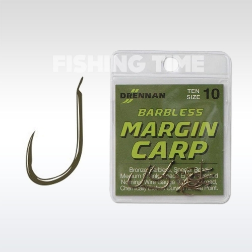 Drennan Barbless Margin Carp horog