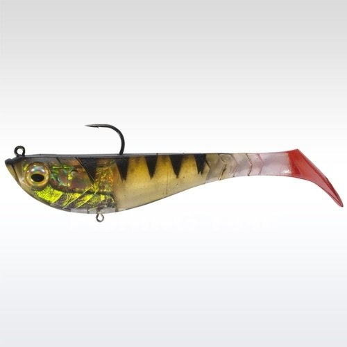 Berkley Powerbait Pulse Shad Pre-Rigged 8cm Perch