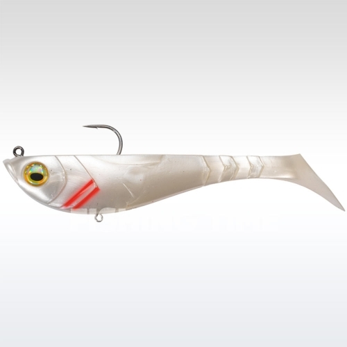 Berkley Powerbait Pulse Shad Pre-Rigged 8cm Pearl White