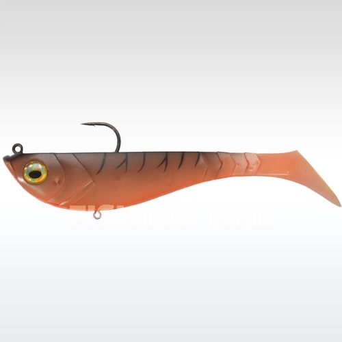 Berkley Powerbait Pulse Shad Pre-Rigged 8cm Tiger Prawn