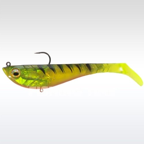 Berkley Powerbait Pulse Shad Pre-Rigged 14cm Firetiger