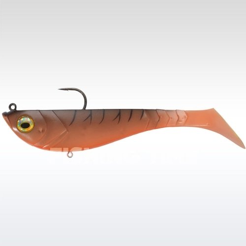Berkley Powerbait Pulse Shad Pre-Rigged 14cm Tiger Prawn