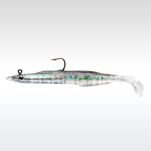 Berkley PowerBait Mounted Sand Eel 12 Black