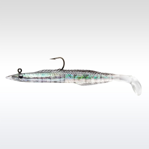 Berkley PowerBait Mounted Sand Eel 15 Black