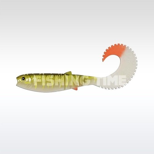 Savage Gear LB Cannibal Curltail 10cm 5g Bulk plasztikcsali Pike