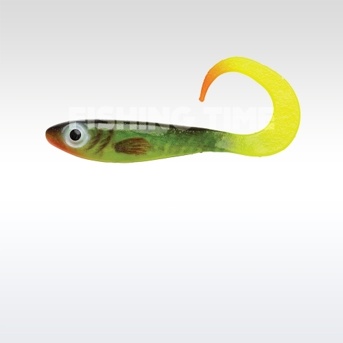 Abu Garcia Svartzonker McPerch Curly Real Series 8cm gumihal Smoking Hot Pike