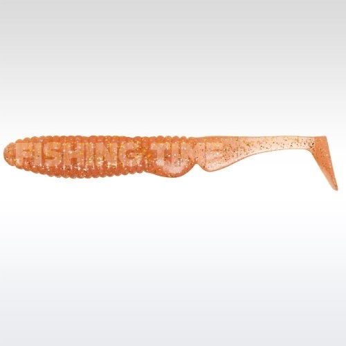 "Illex Ammonite Shad 4.5"" Natural Candy"