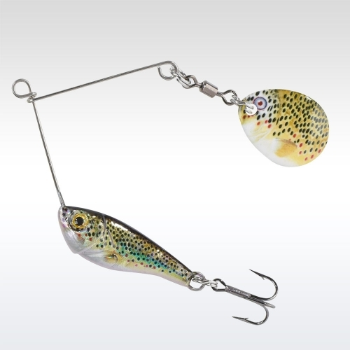 Balzer Colonel Micro Spinnerbait 5g Brown trout