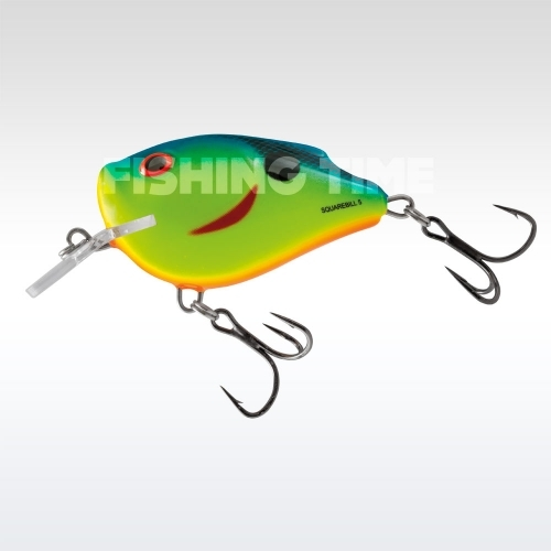 Salmo Squarebill Floating 5 cm Chartreuse Powder Blue