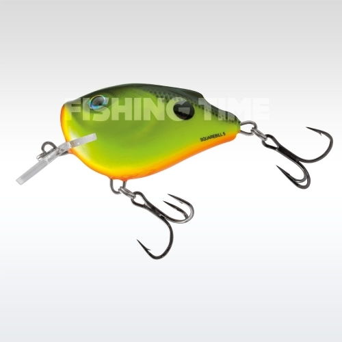 Salmo Squarebill Floating 5 cm Chartreuse Shad