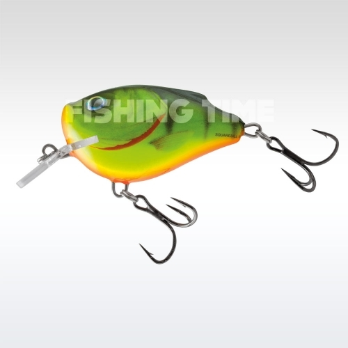 Salmo Squarebill Floating 5 cm Hot Perch