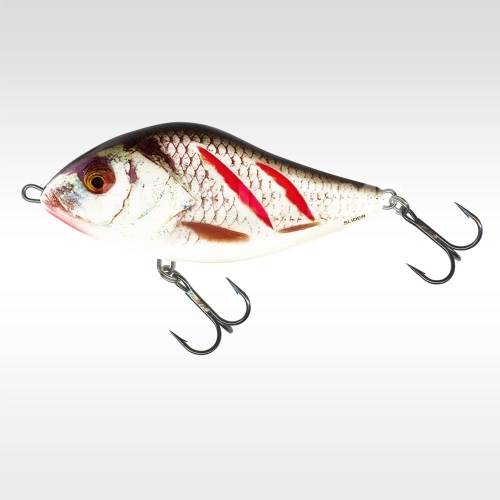 Salmo Slider Sinking 7cm wounded grey shiner