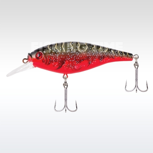 Berkley Flicker Shad Shallow 50 Red Tiger