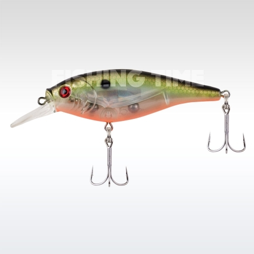 Berkley Flicker Shad Shallow Flash 50 Flashy Green Crush