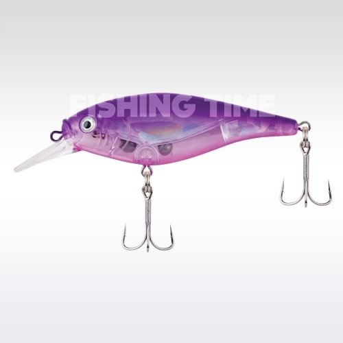 Berkley Flicker Shad Shallow Flash 70 Flashy Purple Candy