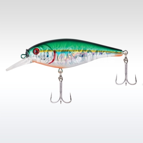Berkley Flicker Shad Shallow Slick 70 Slick Green Alewife