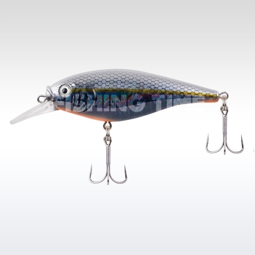 Berkley Flicker Shad Shallow Slick 70 Slick Black Pearl