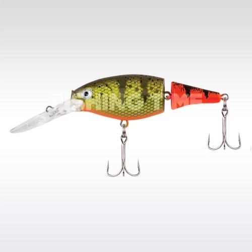 Berkley Flicker Shad Jointed Fire Tail 50 Firetail Hot Perch