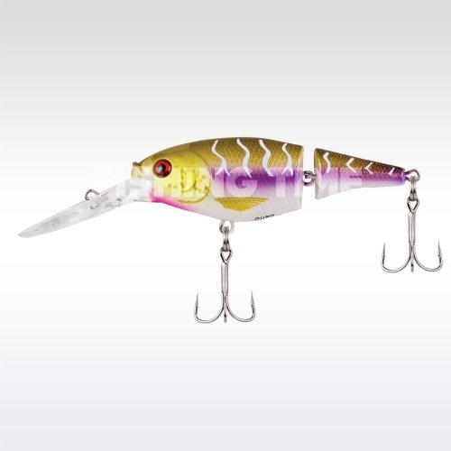 Berkley Flicker Shad Jointed 50 Purple Tiger