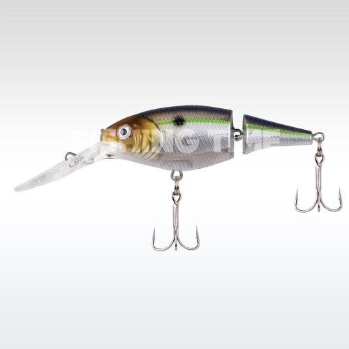 Berkley Flicker Shad Jointed 50 Blue Smelt