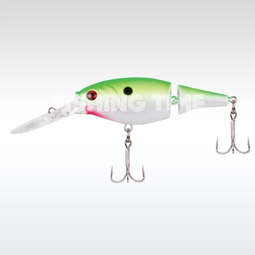 Berkley Flicker Shad Jointed 70 Chartreuse Pearl