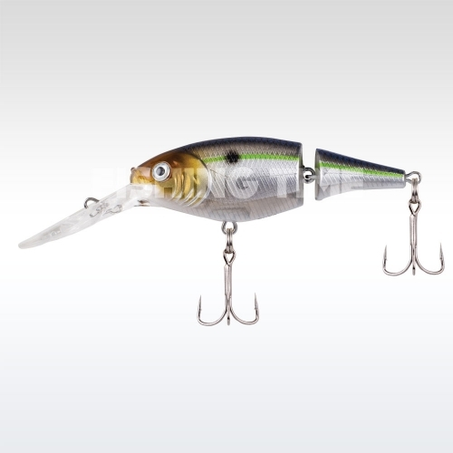 Berkley Flicker Shad Jointed 70 Blue Smelt