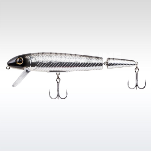 Berkley Surge Shad Jointed 130 Black Chrome