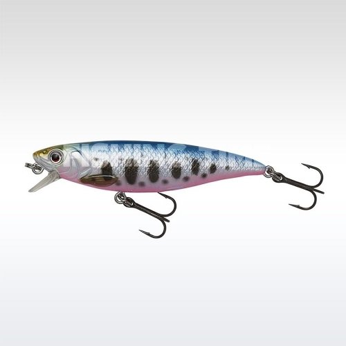 Savage Gear 3D Twitch Minnow 6.6cm 5g SS Smolt wobbler Blue Pink