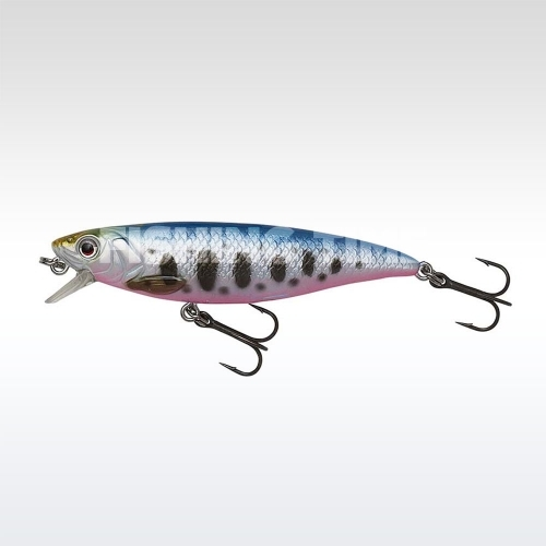 Savage Gear 3D Twitch Minnow 8cm 8.5g SS Smolt wobbler Blue Pink