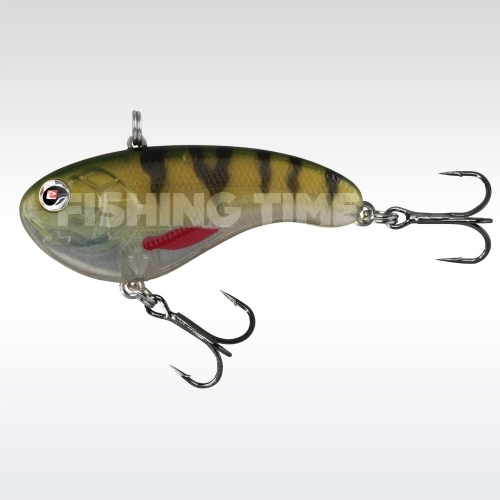 Sebile Flatt Shad Extra Heavy 50 Natural Perch