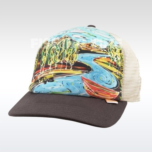 Simms Artist Foam Trucker Bark