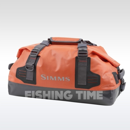 Simms Dry Creek Duffel S Bright Orange táska táska
