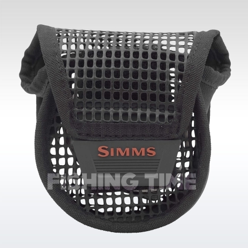 Simms Bounty Hunter Mesh Reel Pouch Black S orsótok