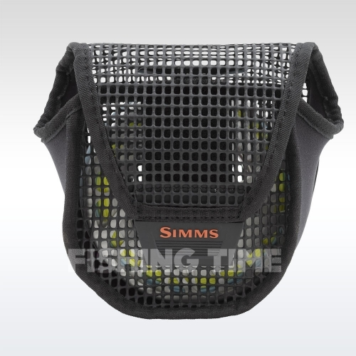 Simms Bounty Hunter Mesh Reel Pouch Black L orsótok