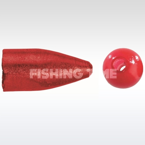 Balzer Carolina Weight With Red Pearl bullet súly