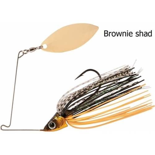 Rapture Sharp Spin Single Willow 10 G White Shad